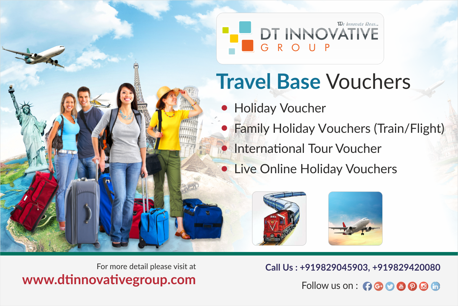 Travel Based Vouchers #Travel Vouchers & #E_Gift #Vouchers These ...