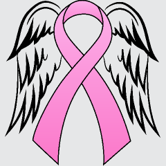07c68233da418 Pink Ribbon With Angel Wings For My Grandmother . . . | ALL ABOUT ME ...