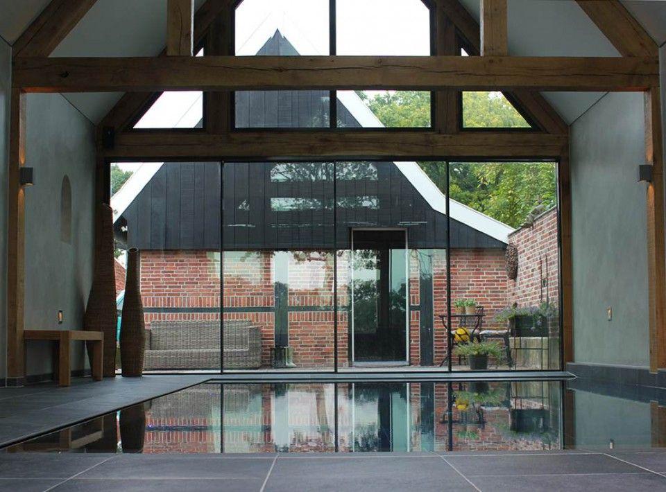 Busscher Serrebouw - Tuinkamer met zwembad in Ootmarsum
