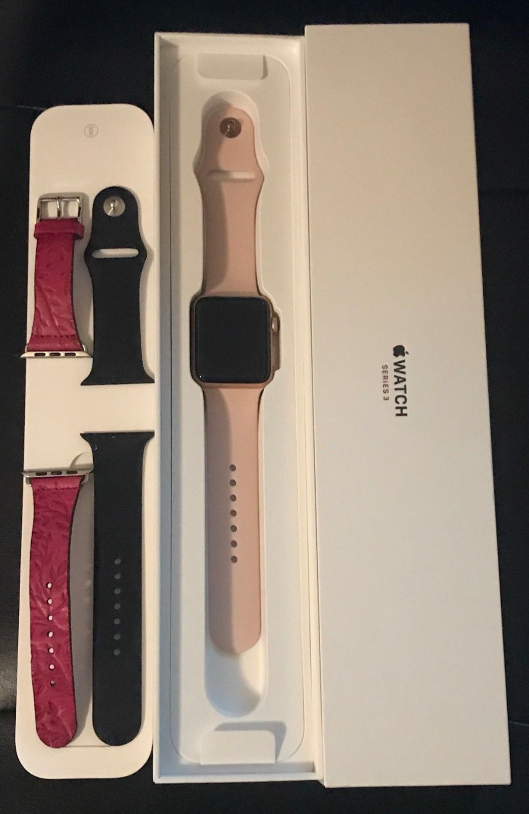 Apple Watch Series 3 42mm Rose Gold Gps Cellular 4g Lte