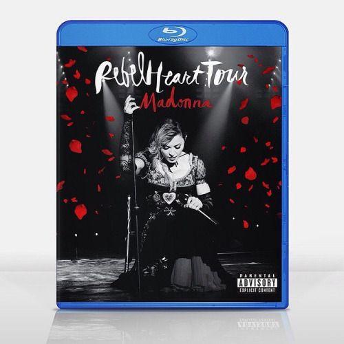 #Madonna #rebelhearttour #bluray #cover #fanmade by @ag_dresign  Do you like?