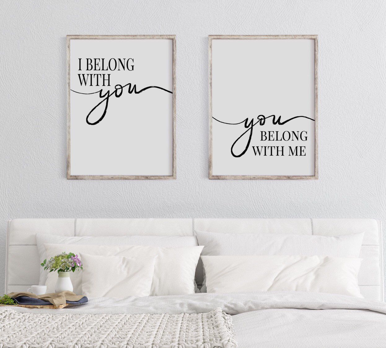 Always and forever Home wall art Set of 3 typography prints a4 home gift