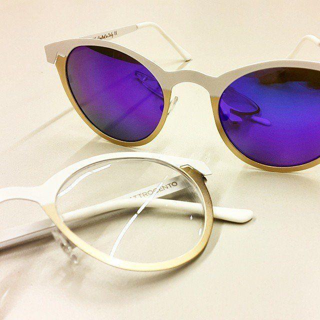 Twiggy Round Glasses