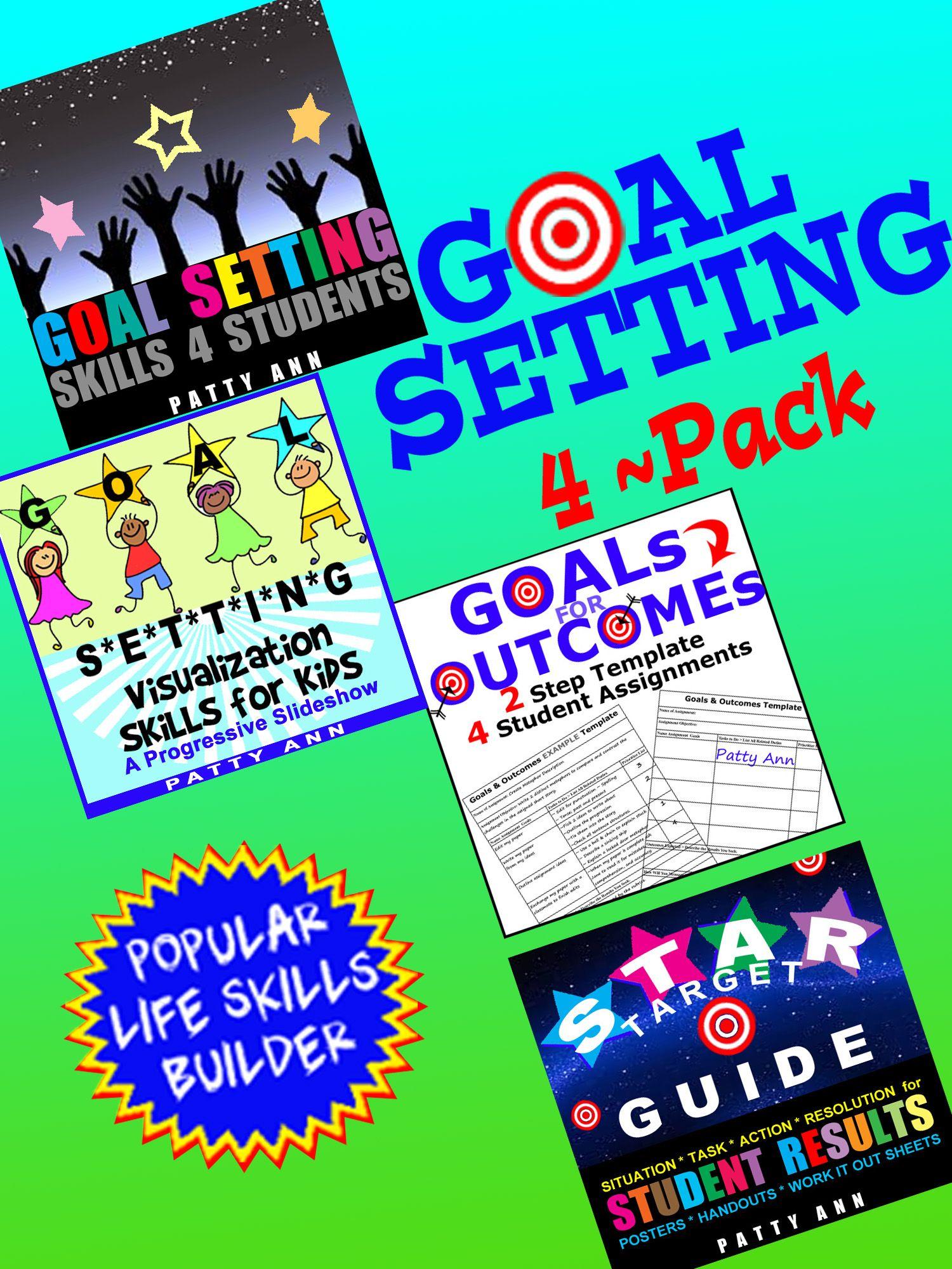 Goal Setting Skills For Life 4 Pack Savings In