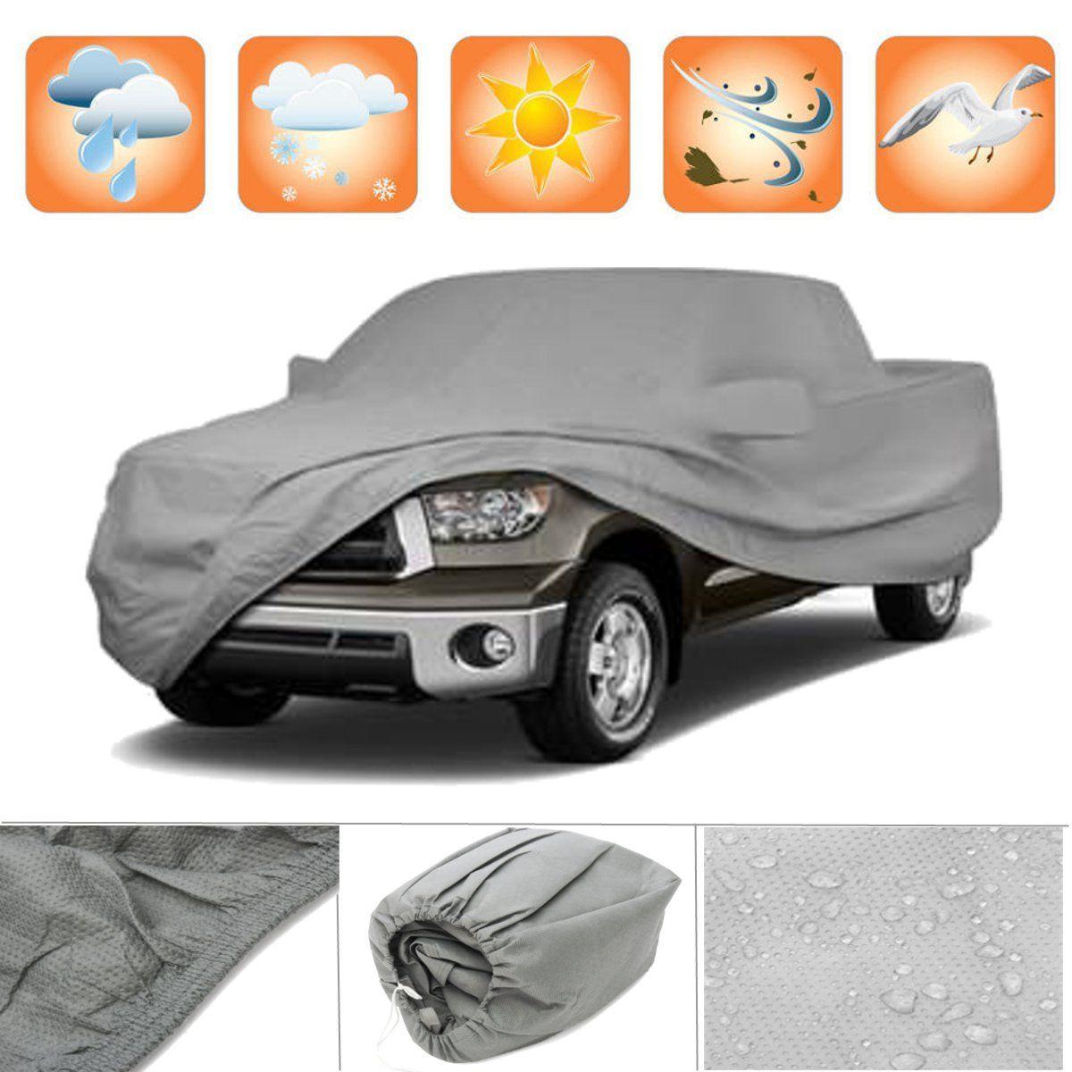 Cubierta de 3 capas Premium para camiones al aire libre