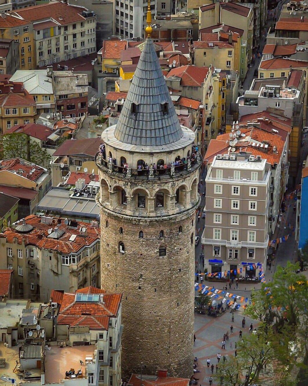 galata istanbul resimler manzara