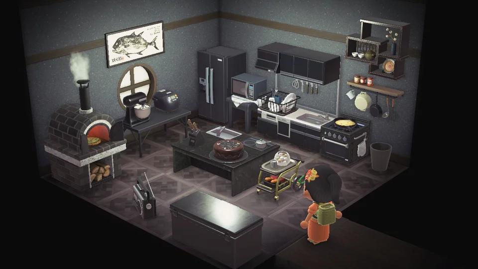 My take on a non-Ironwood kitchen! : AnimalCrossing in ... on Ironwood Animal Crossing  id=80488