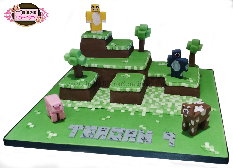 minecraft cake stampylongnose cake iballistic squid cake squares
