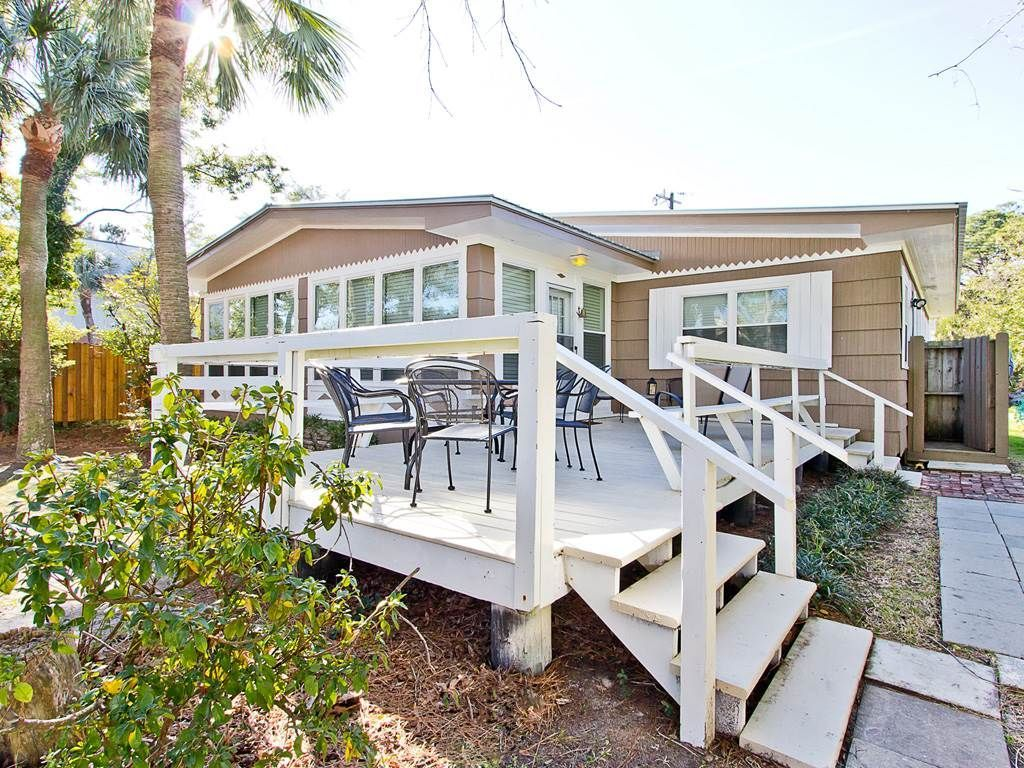 Pet Friendly Home Just 1 Block to Beach with Large