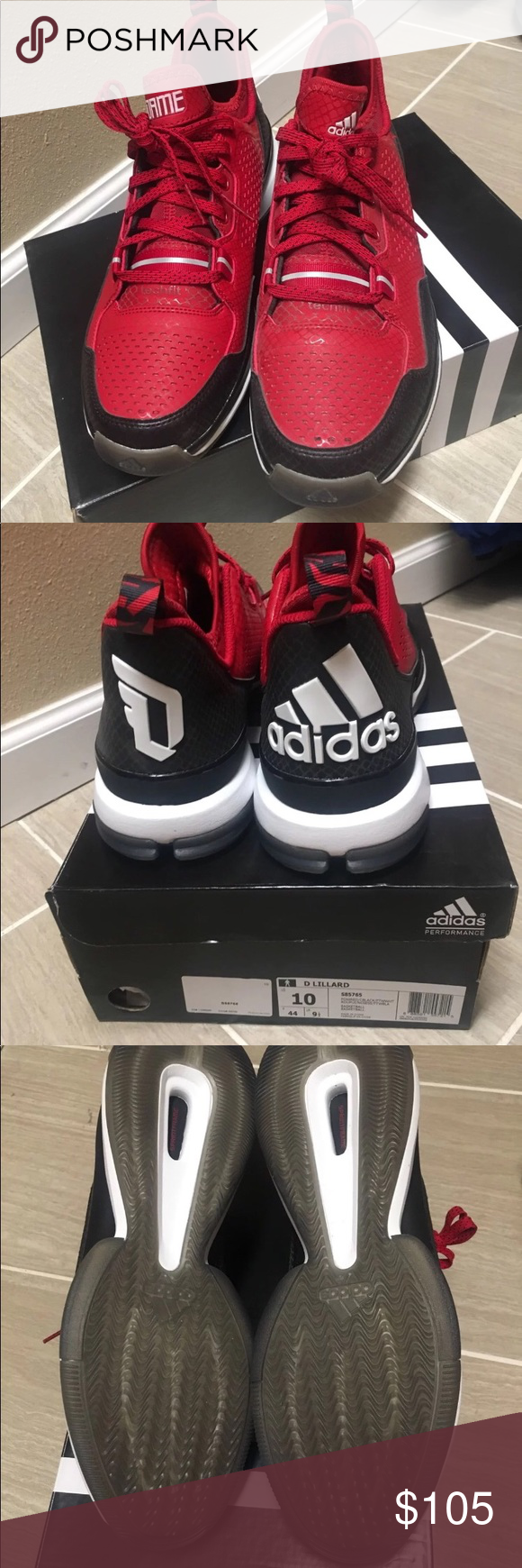 sports shoes 4c8cb af000 Damian Lillard 1 Basketball Shoes New with box Adidas Damian Lillard 1.  Men s size 10 adidas Shoes Athletic Shoes