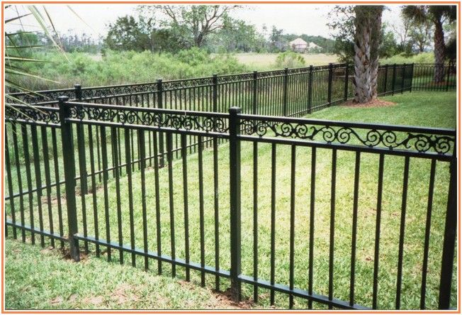 Confounded Wrought Iron Fencing Metal Garden Fencing Iron Fence Wrought Iron Fences