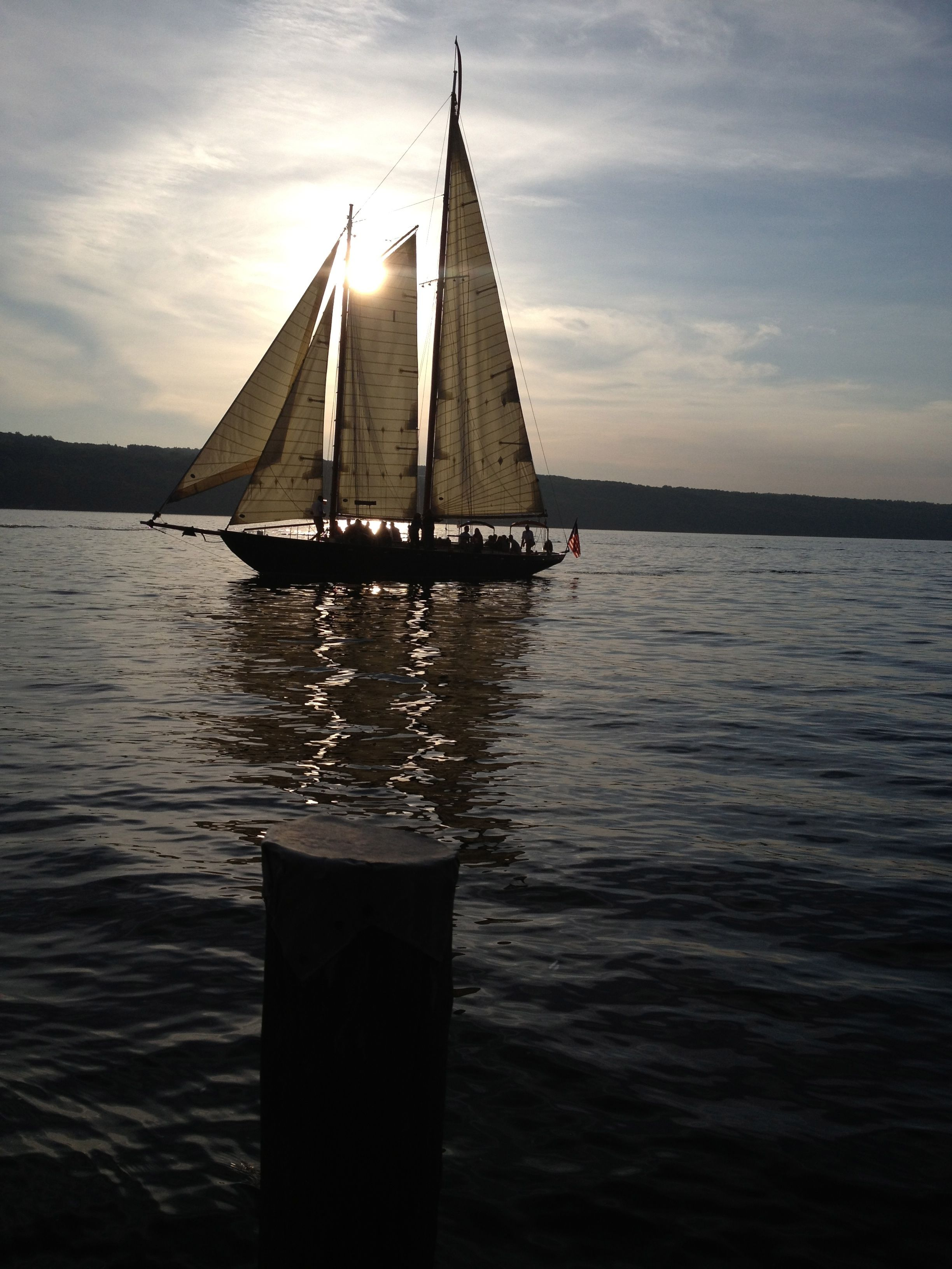 cruising on Seneca Lake