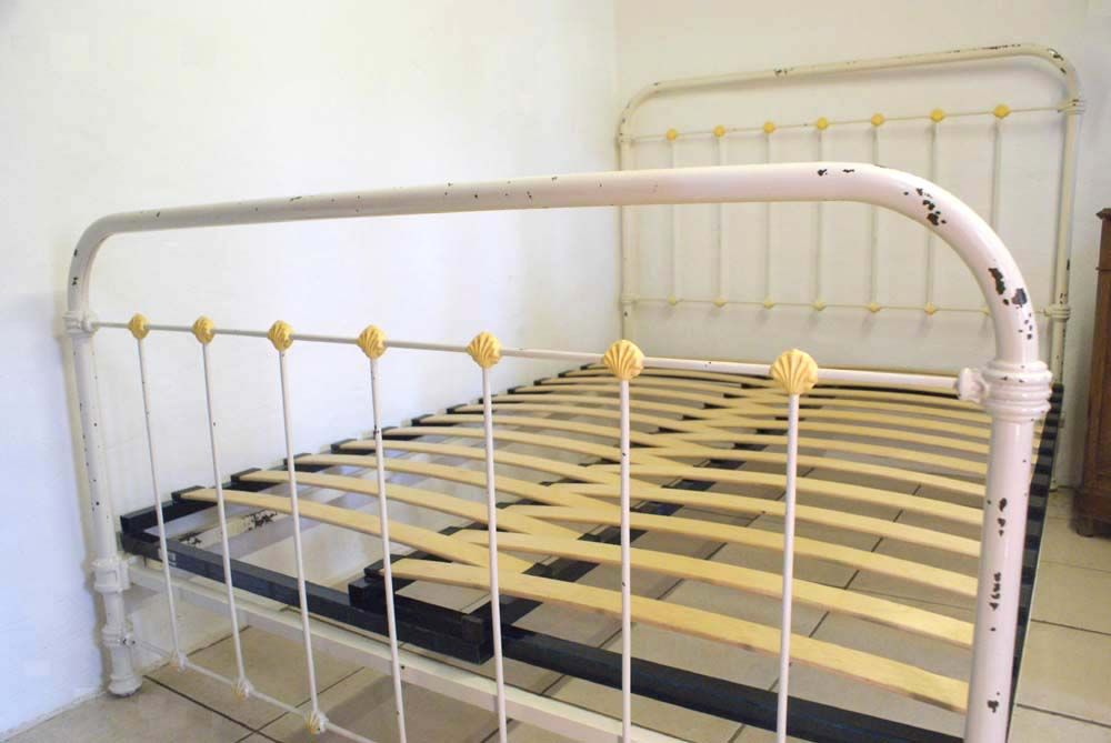 Letti Matrimoniali Shabby Chic : French shabby chic ft double bed beds