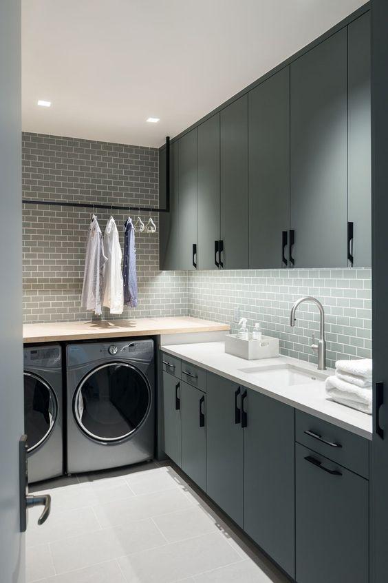 Comment aménager une salle de lavage à la fois jolie et pratique? | Magazine | La Pièce