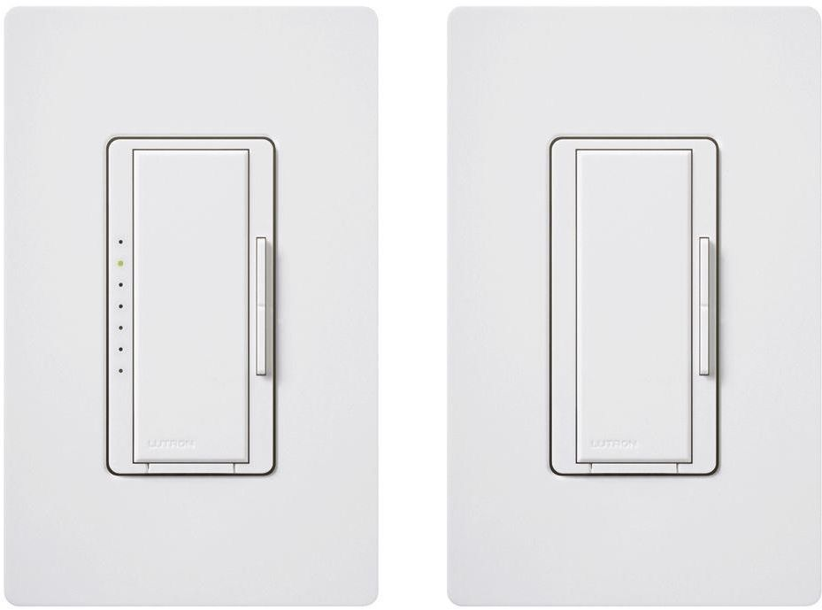 Lutron Maestro 150 Watt Multi Location Digital Cfl Led Light Dimmer Kit White Lutron With Images Venetian Mirrors Dimmer Switch Dimmable Led