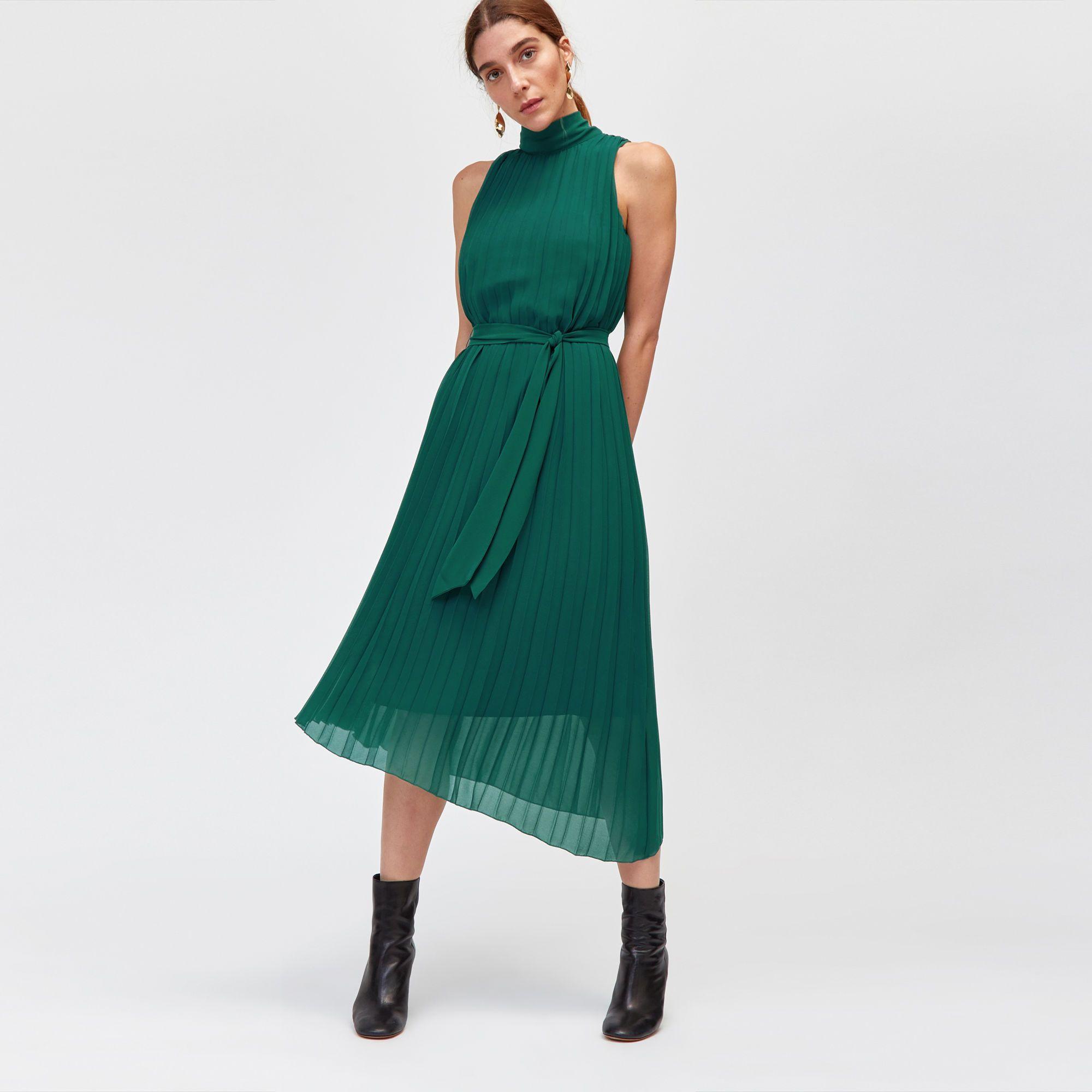 49cc87aa8c Pleated midi dress in 2019 | dresses | Pleated midi dress, Dresses ...