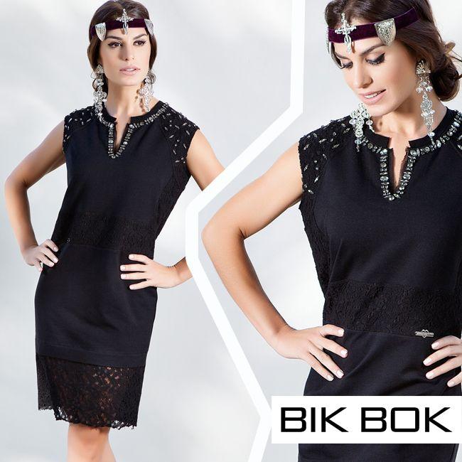 """Rendas e ricos bordados manuais com pedrarias fazem parte da tendência """"Dark Romance"""" da Bik Bok #darkromance #fashion #bikbok"""
