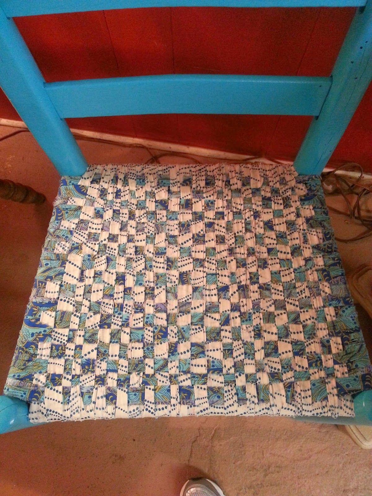 Welcome To My Fabric Chair Seat Weaving Post About A Year