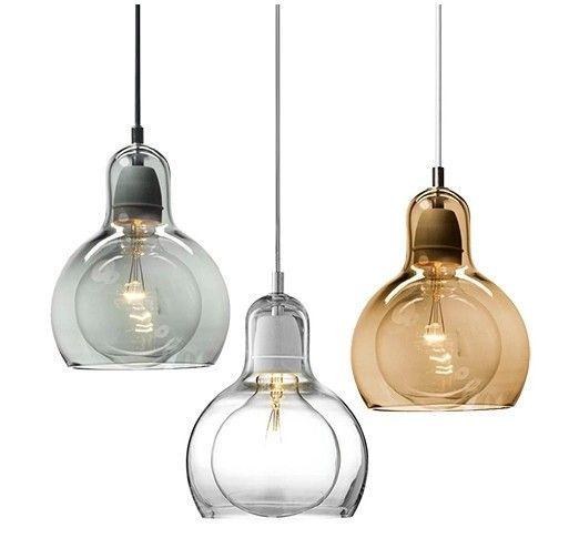 Mega Bulb Pendant Light Replica 3 Colours With Images Glass Pendant Lamp Bulb Pendant Light Glass Pendant Light