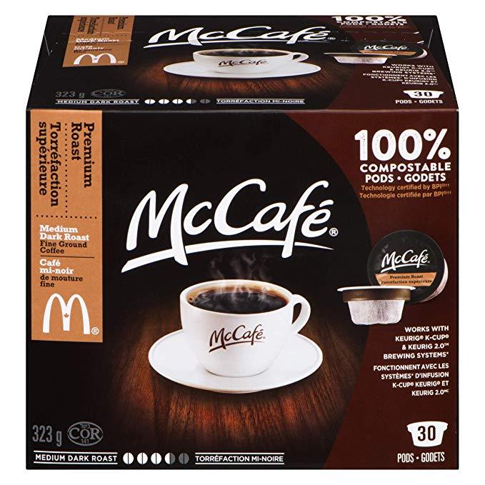 McCafé Premium Roast Coffee Keurig KCup Pods, 30 Pods