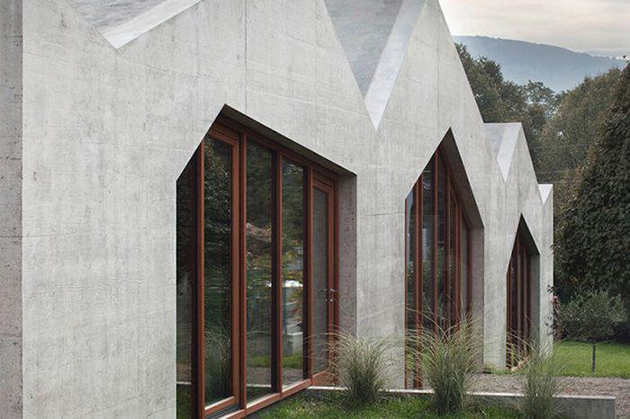 cascades house in confignon www.localarchitecture.ch/