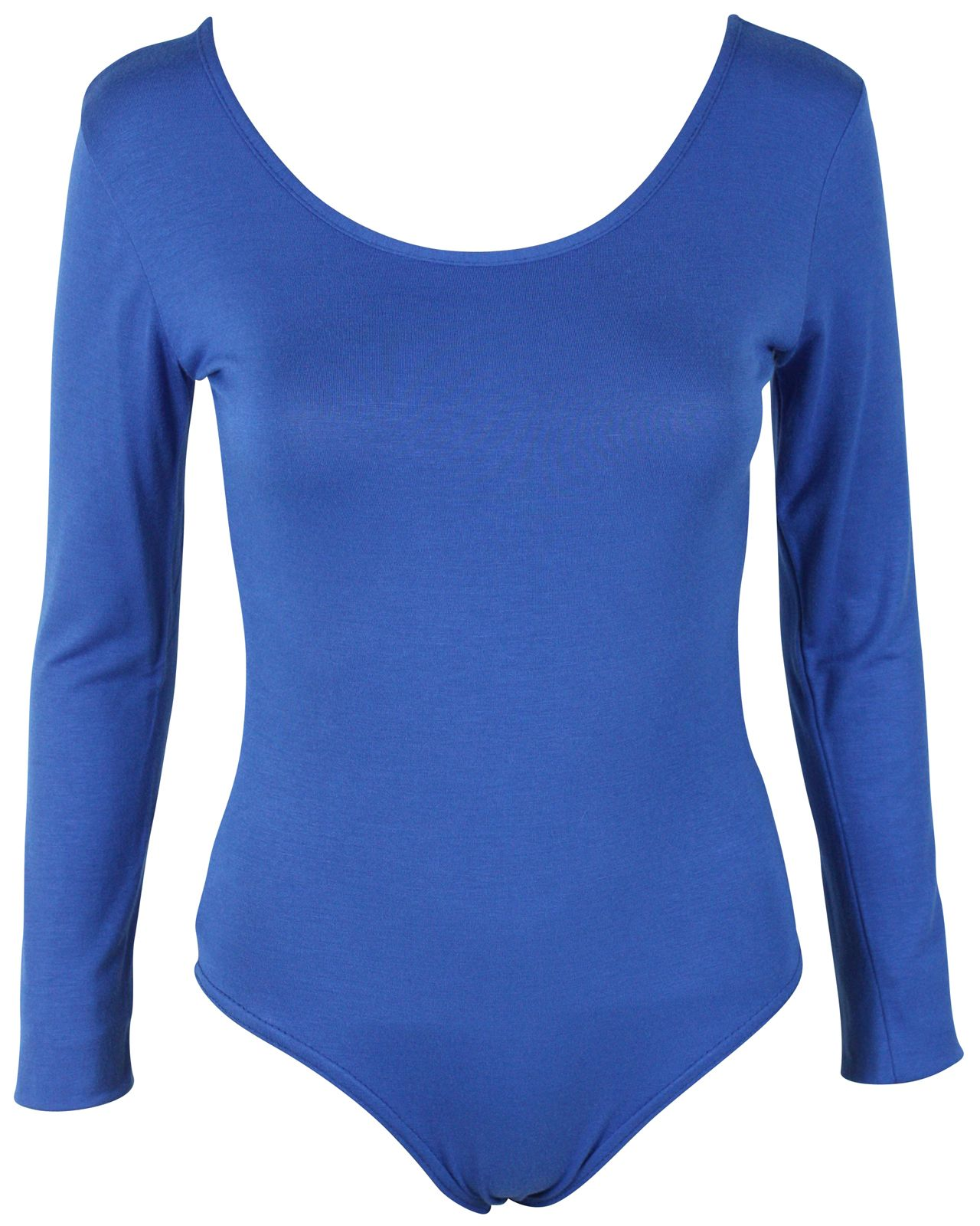 60f52c432469 LADIES-LONG-SLEEVE-STRETCH-LEOTARD-BODYSUIT-WOMENS-TOP