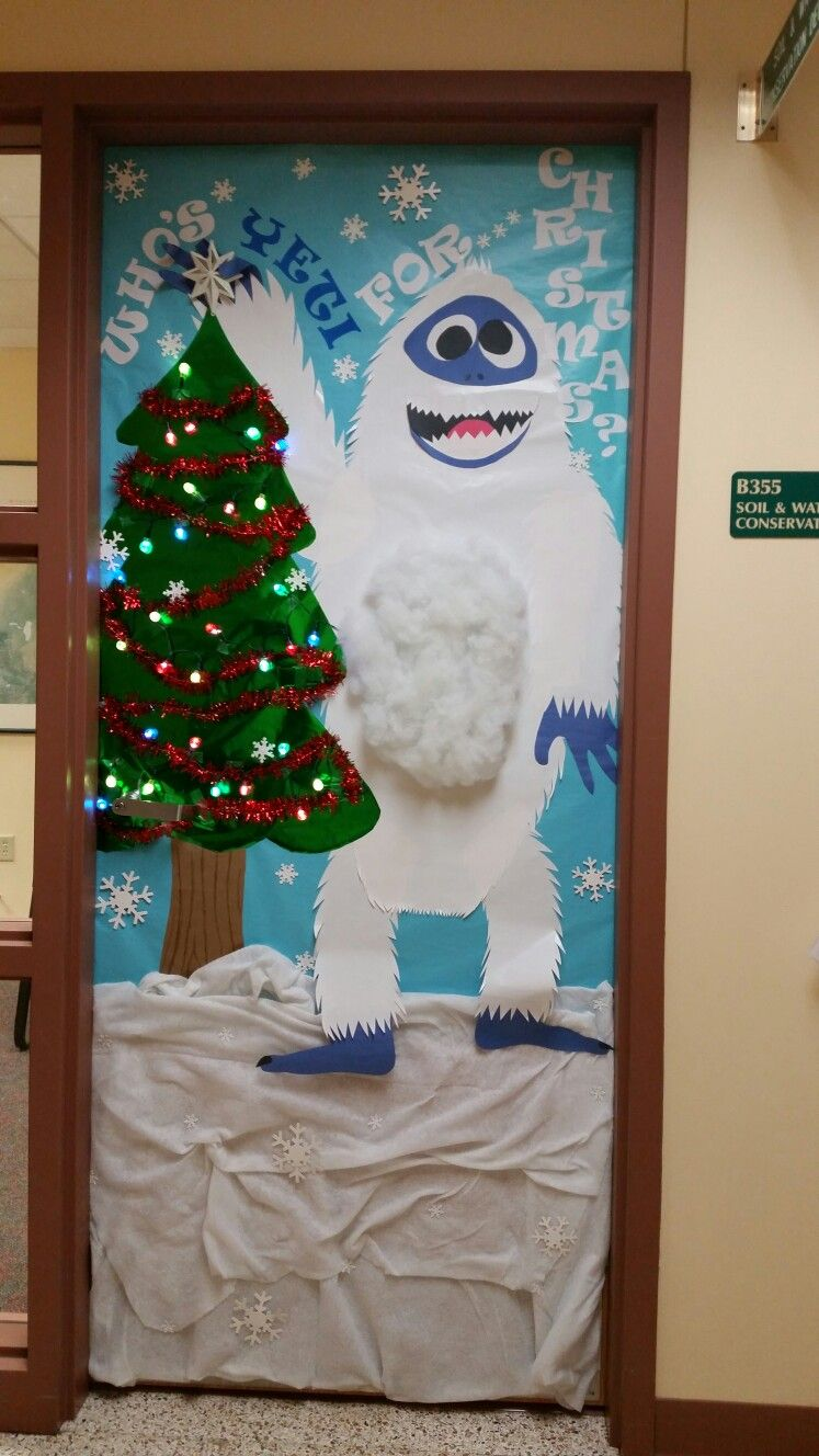 christmas office door decoration. Office Door Decoration. Who\u0027s \ Christmas Decoration A