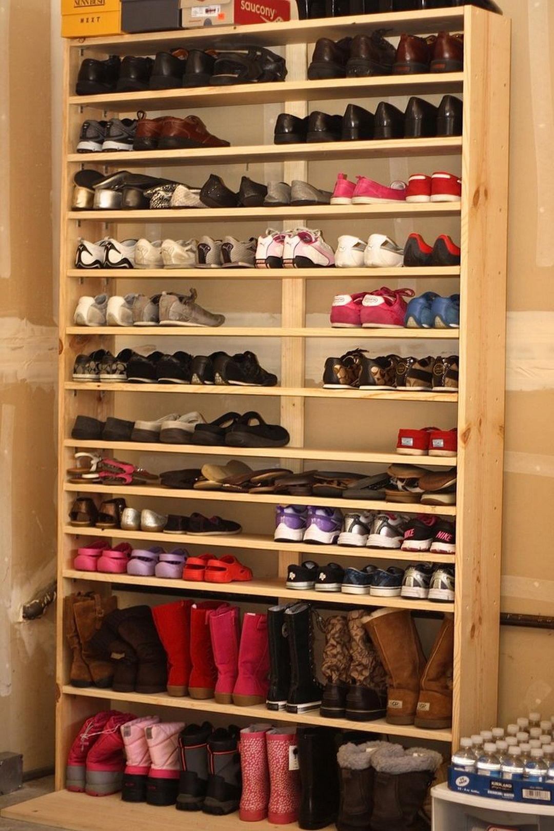 Practical Shoes Rack Design Ideas For Small Homes Garage Shoe