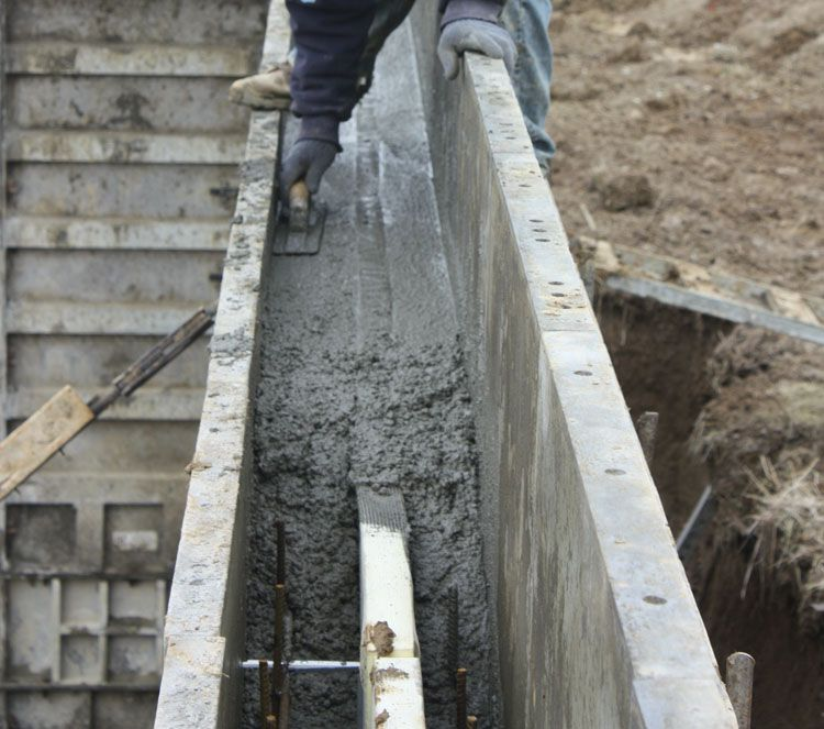 Easi wall system the icf alternative in the middle of for Superior wall system