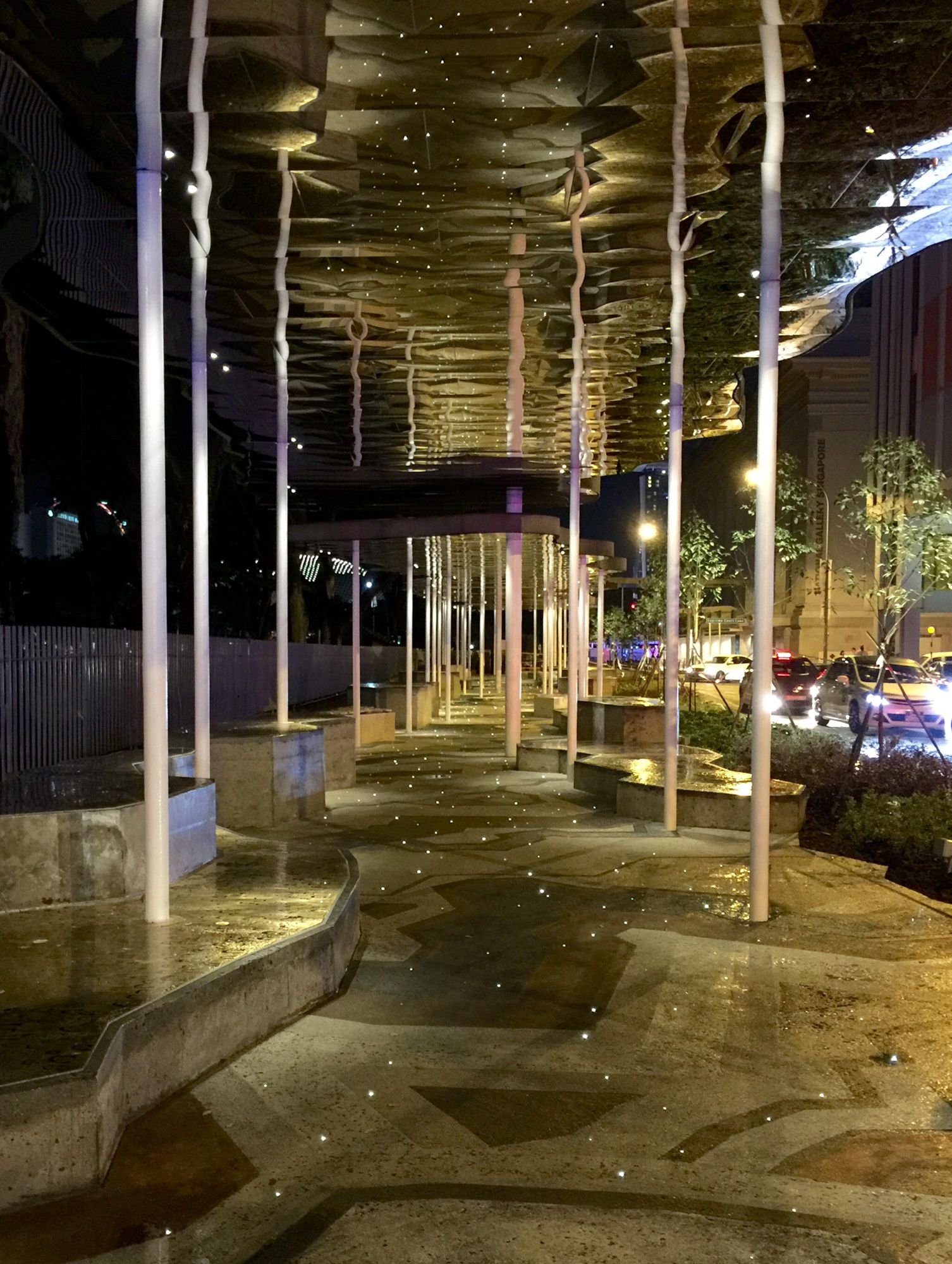 Art Connector at night.