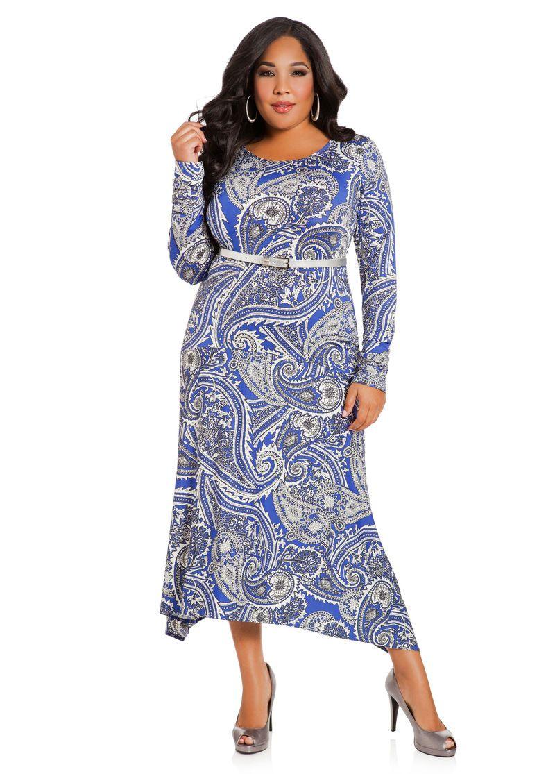 Paisley Maxi Dress Ashley Stewart Paisley Maxi Dress Fancy Attire Trendy Maxi Dresses [ 1115 x 800 Pixel ]