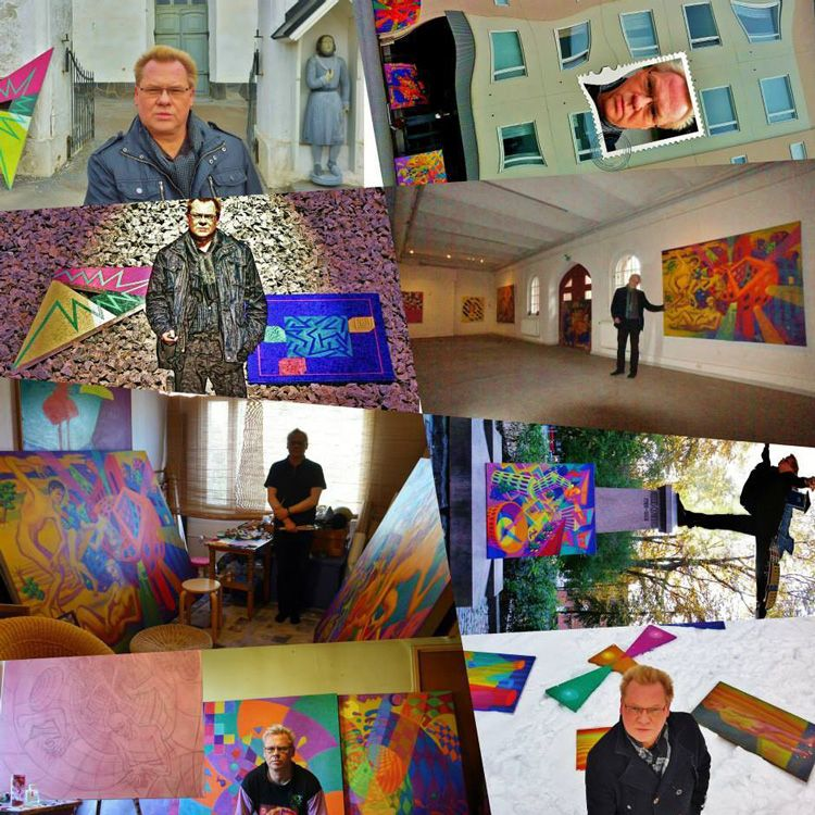 Juha Rautio is an #artist from Finland. #Webpage by Coriosi www.coriosi.com