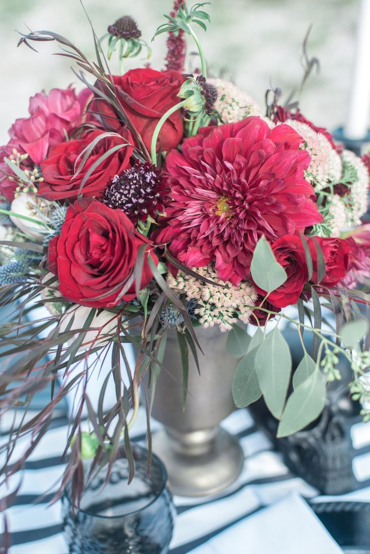 Beautiful Red Centerpieces Topsimages