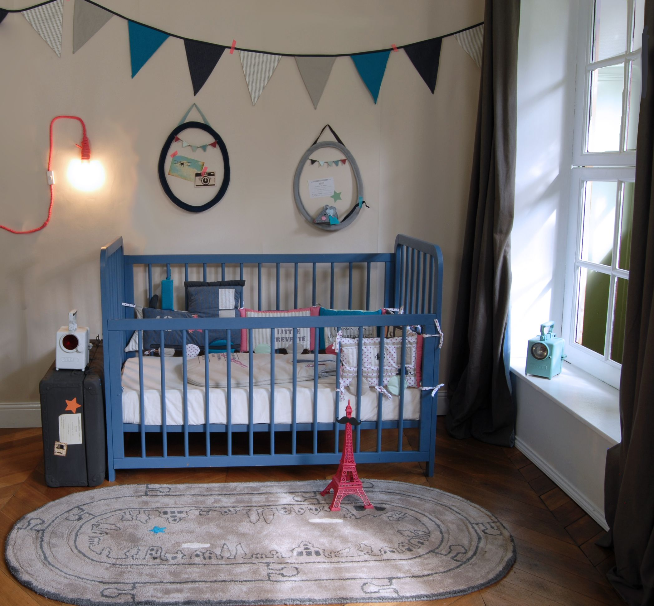 Ambiance Chambre Bébé Garçon ambiance de chambre bébé garçon train mini-express chez www.little