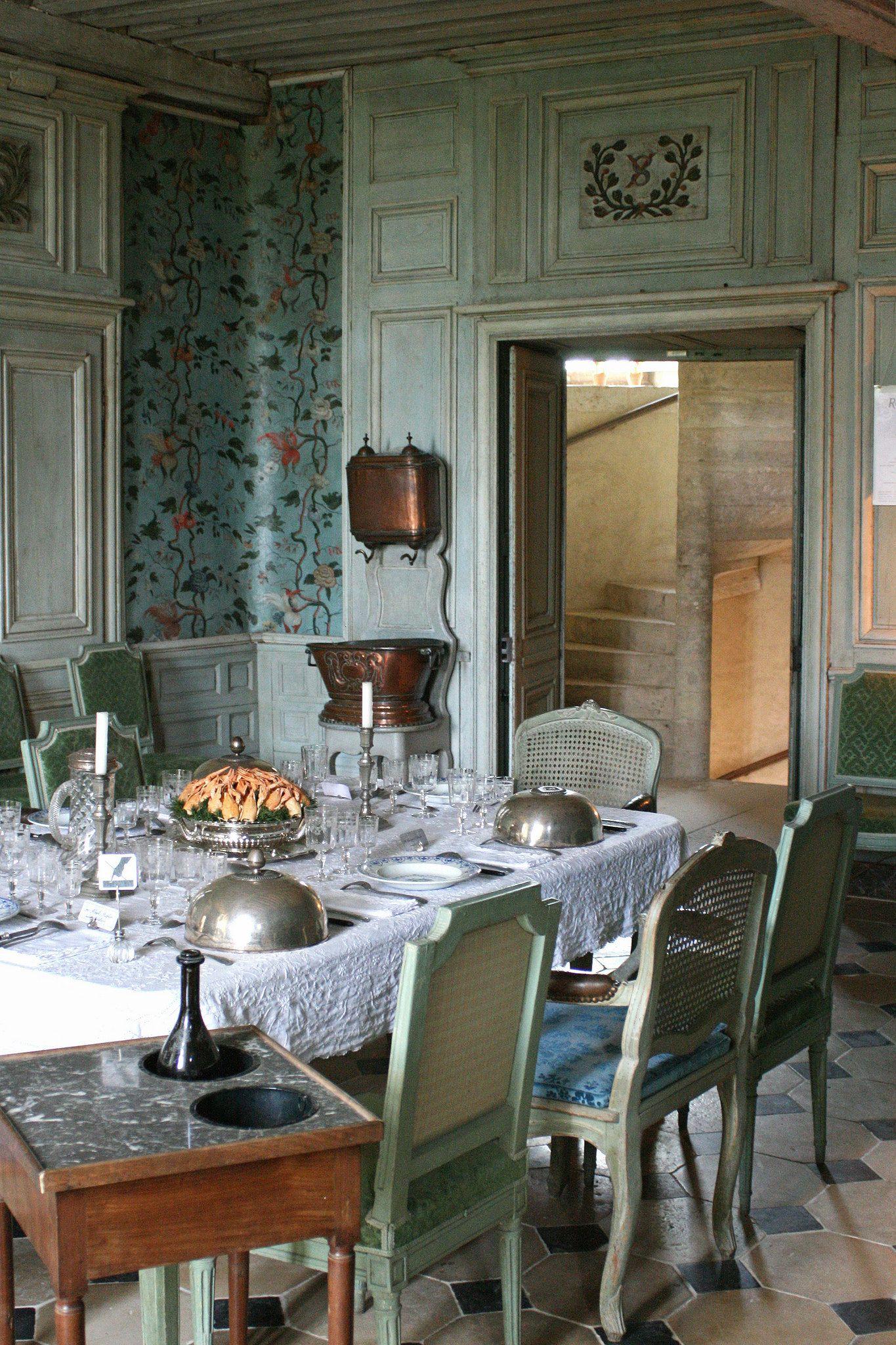 Salle A Manger Chateau De Talcy Interieurs Pinterest