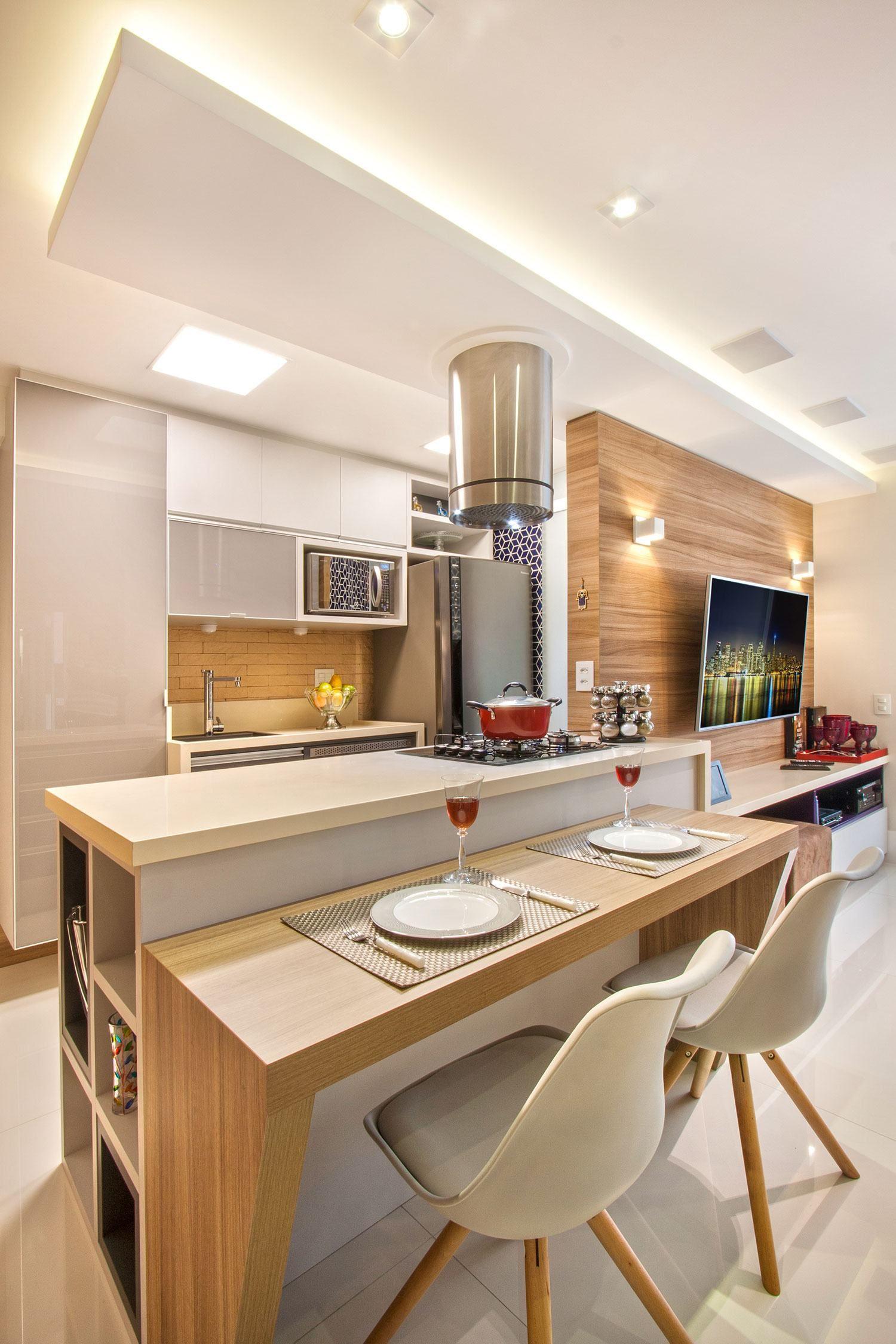 Veja Belas Refer Ncias De Projetos De Cozinhas Clean Como Inspira O