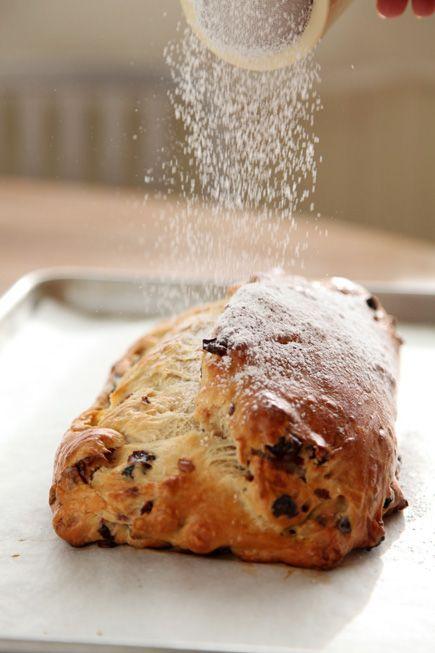 Christmas Stollen bread in 5 Christmas ideas Pinterest Rolls