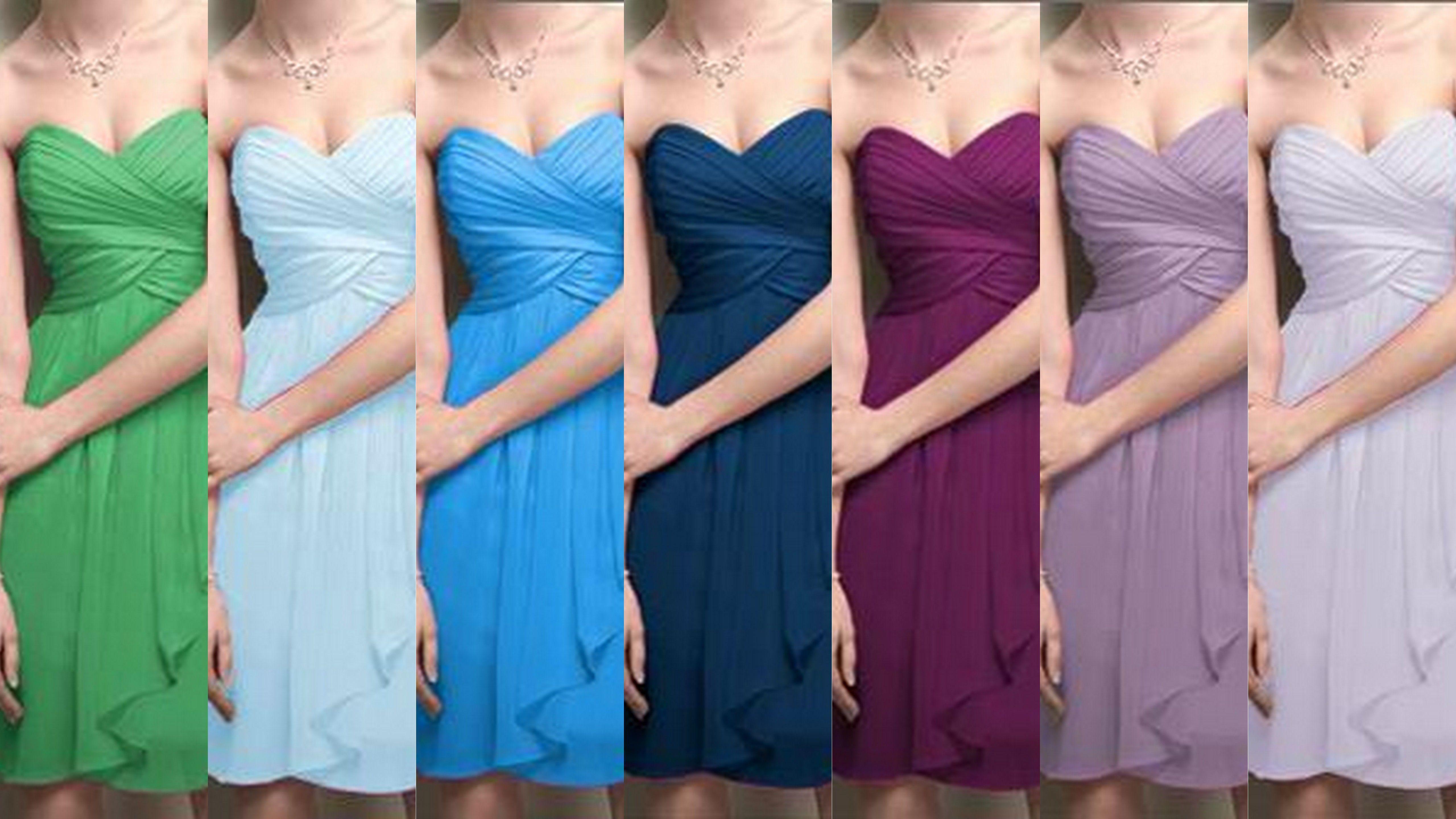 Cool colors. wedding color schemes