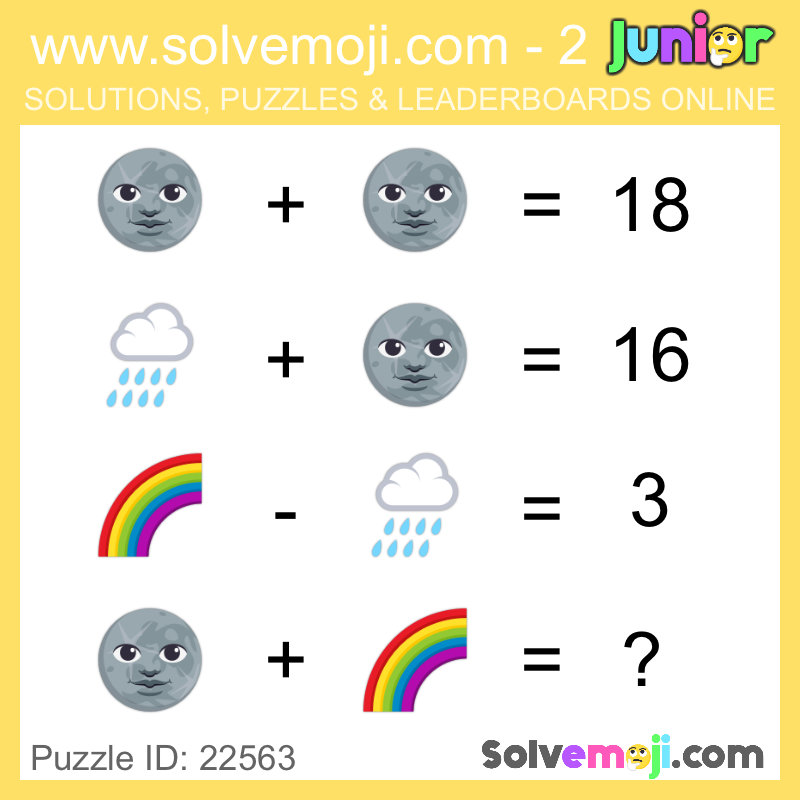 Emoji Math Puzzles Can You Solve It Math Logic Puzzles Maths Puzzles Emoji Math