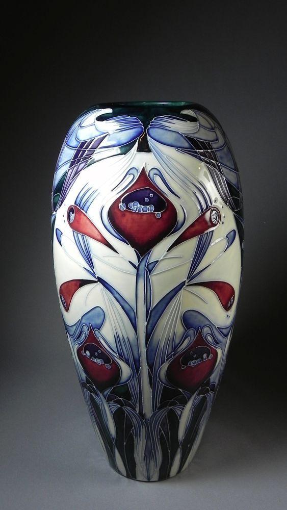 RARE Moorcroft Spirit of Liberty Vase Limited Edition 200