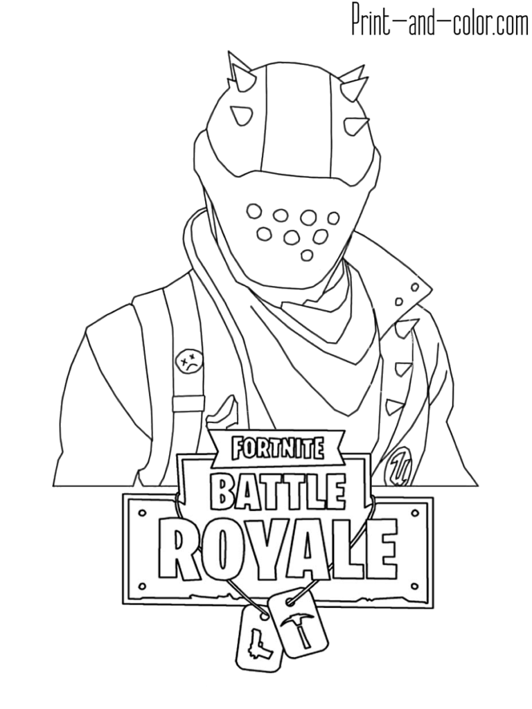 Fortnite Battle Royale Coloring Page Rust Lord Coloring Pages For Boys Free Kids Coloring Pages Coloring Pages