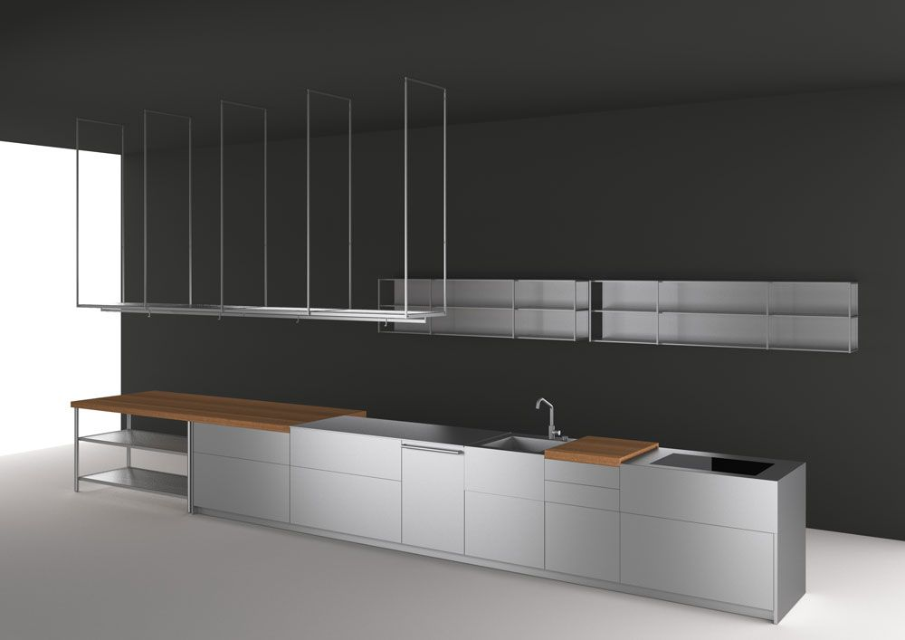 Self Contained Kitchens And Islands Kitchen Open By Boffi