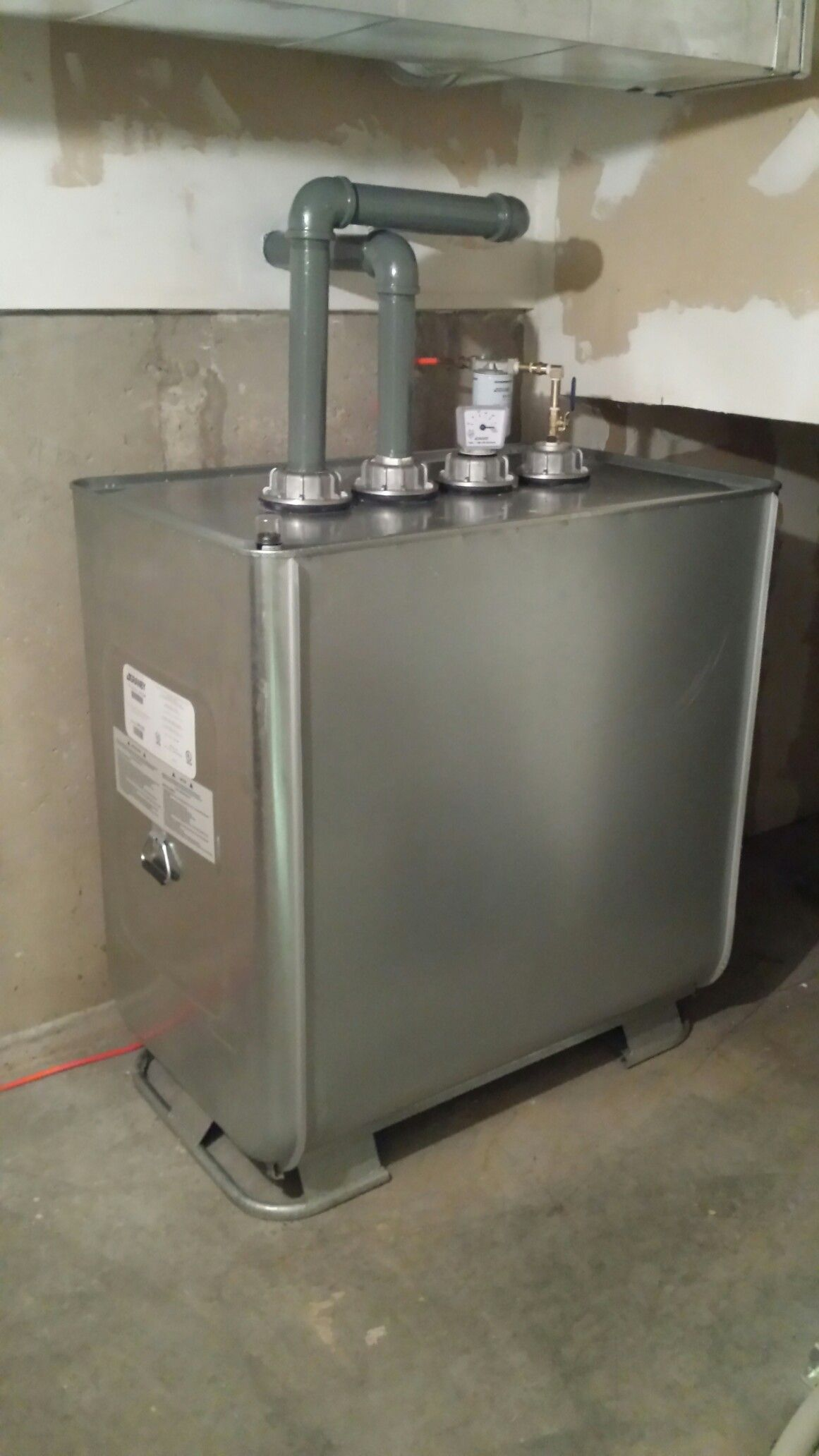 720l Double Wall Fuel Tank Make Is Granby Oil Burners Granby