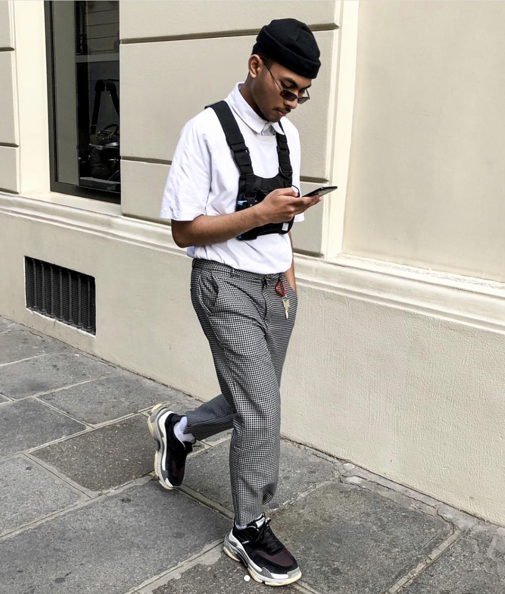 balenciaga triple s outfit