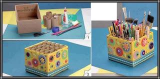 اعمال فنية يدوية حديثة اشغال يدوية بالكرتون اعمال اعادة تدوير سهله للاطفال بالصور بالخطوات سهل Diy Pencil Holder Paper Crafts For Kids Toilet Paper Roll Crafts