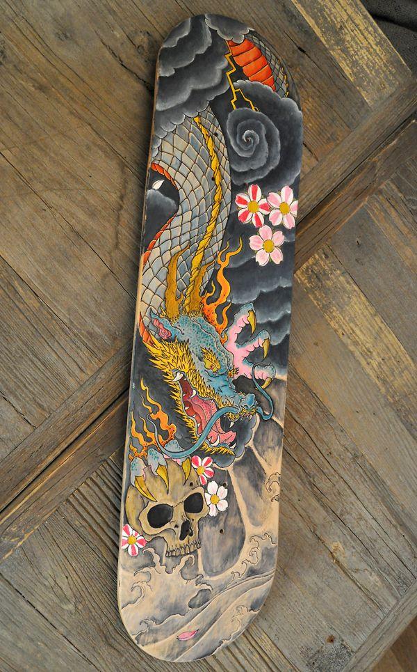 custom skateboard - Google Search | Art / Aesthetic | Skateboard
