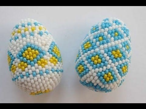 Osterei Aus Glasperlen Teil 22 Easter Egg Out Of Beads Part 22