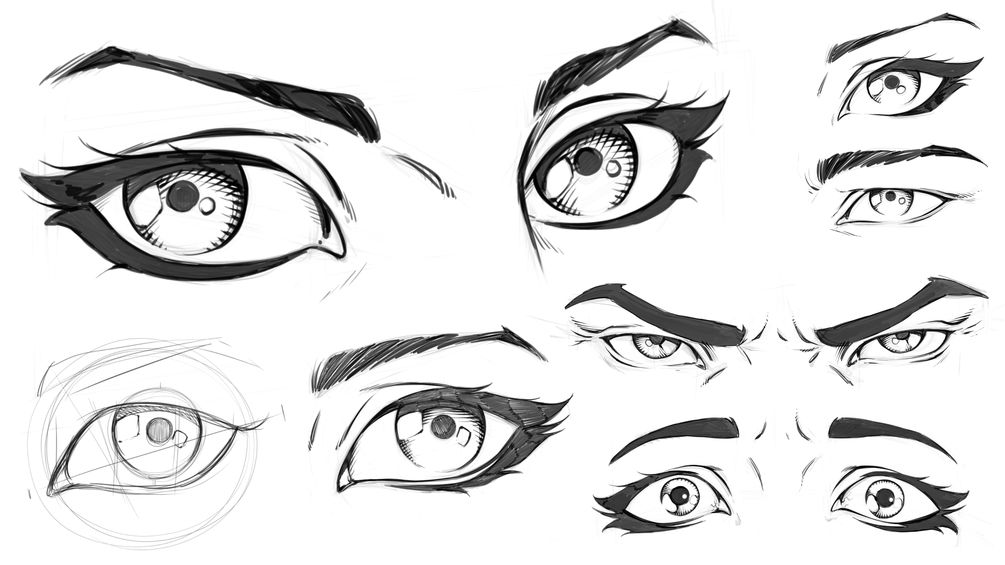 How To Draw Comic Style Eyes Step By Step Comic Book Drawing Comic Drawing Eyes Artwork