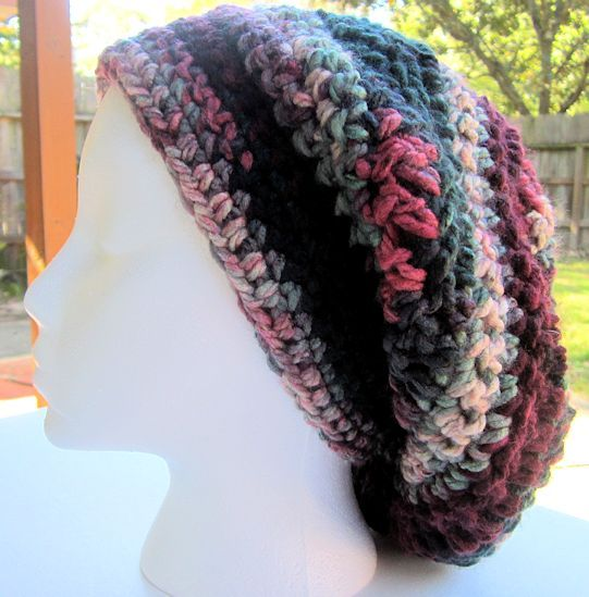 Charisma Yarn Baby Blanket: Crochet Oversize Slouch Hat In Loops And Threads Charisma