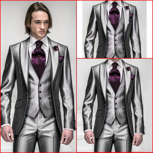 New Arrival Wedding Party Dress Classic Groom Suit ( Coat+Pants+ ...